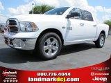 2014 Bright White Ram 1500 Big Horn Crew Cab #96879843