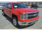 2014 Victory Red Chevrolet Silverado 1500 LT Z71 Crew Cab 4x4 #96880020