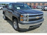 2014 Tungsten Metallic Chevrolet Silverado 1500 WT Regular Cab 4x4 #96880018