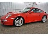 2007 Porsche 911 Carrera S Coupe Front 3/4 View