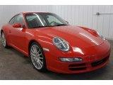 2007 Porsche 911 Guards Red