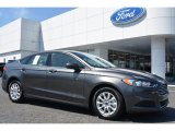 2015 Magnetic Metallic Ford Fusion S #96911395