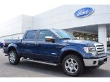 2014 Blue Jeans Ford F150 Lariat SuperCrew 4x4 #96911390