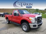 2015 Vermillion Red Ford F250 Super Duty XL Regular Cab 4x4 #96911366