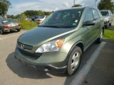 2008 Green Tea Metallic Honda CR-V LX 4WD #96911700