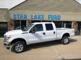 2015 Oxford White Ford F250 Super Duty XLT Crew Cab 4x4 #96911629