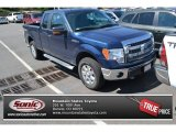 2014 Blue Jeans Ford F150 XLT SuperCab 4x4 #96911156