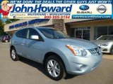 2012 Frosted Steel Nissan Rogue SV AWD #96954040