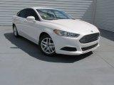2015 White Platinum Metallic Ford Fusion SE #96953883