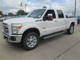 2015 White Platinum Ford F250 Super Duty King Ranch Crew Cab 4x4 #96997602
