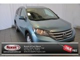 2014 Mountain Air Metallic Honda CR-V EX-L AWD #96997505