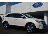 2014 White Platinum Ford Edge Limited #96997781