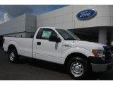 2014 Oxford White Ford F150 XL Regular Cab #96997780