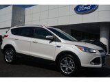 2014 White Platinum Ford Escape Titanium 1.6L EcoBoost #96997778