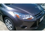 2014 Sterling Gray Ford Focus S Sedan #96997588