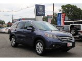 2013 Twilight Blue Metallic Honda CR-V EX-L AWD #96997579