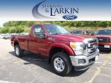 2015 Ruby Red Ford F250 Super Duty XLT Regular Cab 4x4 #96997749