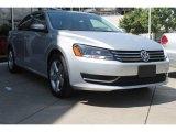 2014 Reflex Silver Metallic Volkswagen Passat 1.8T SE #96998125