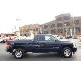 2011 Imperial Blue Metallic Chevrolet Silverado 1500 LS Extended Cab 4x4 #96997720