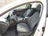 2015 Ford Fusion Titanium Charcoal Black Interior