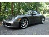 2012 Meteor Grey Metallic Porsche 911 Carrera S Cabriolet #97046529