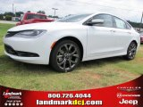2015 Bright White Chrysler 200 S #97075497