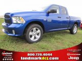 2014 Blue Streak Pearl Coat Ram 1500 Express Quad Cab #97075495