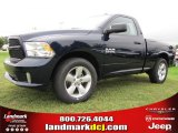2014 True Blue Pearl Coat Ram 1500 Tradesman Regular Cab #97075492