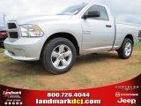2014 Bright Silver Metallic Ram 1500 Tradesman Regular Cab #97075491