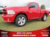 2014 Flame Red Ram 1500 Tradesman Regular Cab #97075489