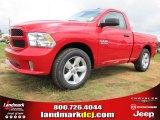 2014 Flame Red Ram 1500 Tradesman Regular Cab #97075486