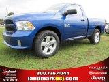 2014 Blue Streak Pearl Coat Ram 1500 Tradesman Regular Cab #97075485