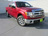 2014 Ruby Red Ford F150 XLT SuperCrew #97075627