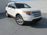 2014 White Platinum Ford Explorer XLT #97075625