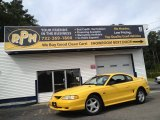 1994 Ford Mustang Canary Yellow