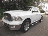 2011 Bright White Dodge Ram 1500 Laramie Quad Cab 4x4 #97075796