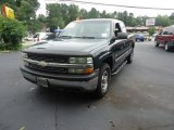 2002 Forest Green Metallic Chevrolet Silverado 1500 LS Extended Cab 4x4 #97075781