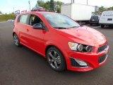 Chevrolet Sonic 2015 Data, Info and Specs