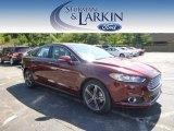 2015 Bronze Fire Metallic Ford Fusion Titanium #97110420