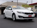2013 Snow White Pearl Kia Optima LX #97110483