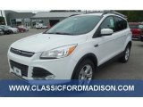 2014 Oxford White Ford Escape SE 2.0L EcoBoost 4WD #97110664