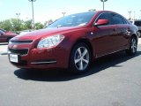 2008 Red Jewel Tint Coat Chevrolet Malibu LT Sedan #9703375