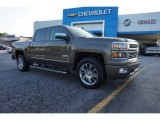 2014 Brownstone Metallic Chevrolet Silverado 1500 High Country Crew Cab #97110533