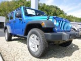 2015 Jeep Wrangler Unlimited Hydro Blue Pearl