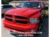 2014 Flame Red Ram 1500 Express Crew Cab 4x4 #97110640