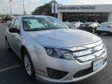 2011 Ingot Silver Metallic Ford Fusion S #97110378