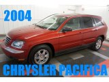 Inferno Red Pearl Chrysler Pacifica in 2004