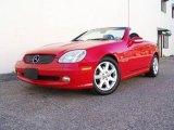 2001 Magma Red Mercedes-Benz SLK 230 Kompressor Roadster #9698532