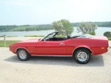 1972 Ford Mustang Bright Red