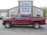 2014 Deep Ruby Metallic Chevrolet Silverado 1500 High Country Crew Cab 4x4 #97189103